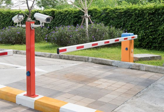 automated barrier cctv installation