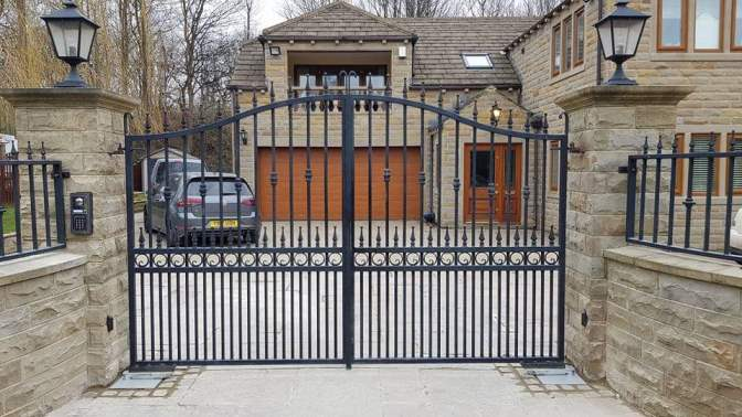 Electric Automated Gates in Leeds and Yorkshire
