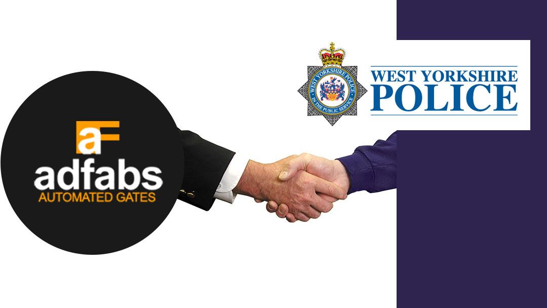 West Yorkshire Police affiliation sign